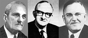 Dr Wesley Bourne, Dr Digby Leigh, Dr Harrold Griffith